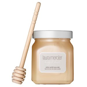 Laura Mercier Creme Brûlée- A Bathing Sensation with the cutest honey dipper. #lauramercier #honeybrulee #valentinesgift #beautygift